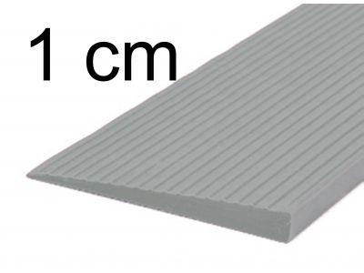 Türschwellenrampe 1 cm grau