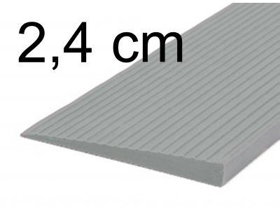 Türschwellenrampe 2,4 cm grau