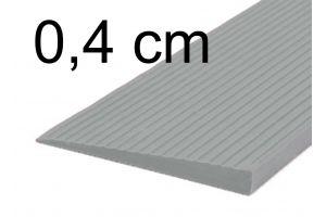 Türschwellenrampe 0,4 cm grau