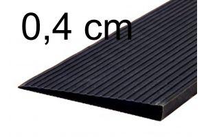 Türschwellenrampe 0,4 cm schwarz