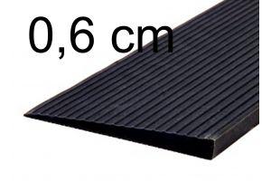 Türschwellenrampe 0,6 cm schwarz