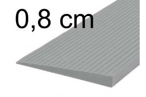 Türschwellenrampe 0,8 cm grau