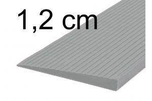 Türschwellenrampe 1,2 cm grau